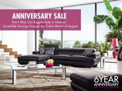 Zuri Furniture Commemorates Six Year Anniversary With