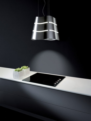 A Line Of Ductless Island Contemporary Range Hoods By