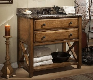 Charmant Sagehill Designs Casual Elements Collection Solid Wood Bathroom Vanity ...