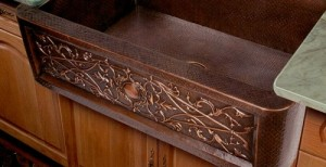 Handcrafted Antique Farmhouse Copper Kitchen Sink From Artisan ...