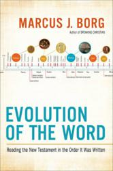 Cover Image: Evolution of the Word by Marcus Borg