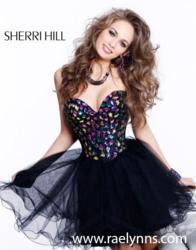 3db845cc778 Sherri Hill Homecoming Dresses at RaeLynn s Boutique