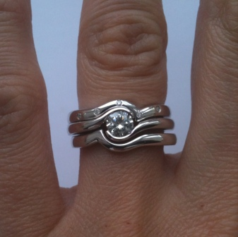 Trio Of Ring Bridal Set Available Onlineview One