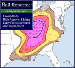 HailReporter.com Alerting, Reporting, and Forecasting