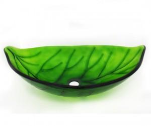 Green Leaf Vessel Sink From Legion ...