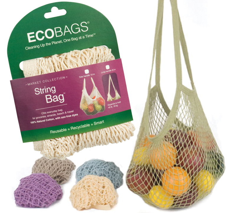 Ecobags Market Collection Reusable String Bagreusable Bags Perfect For Ping At Grocery S The Farmers Or Taking On