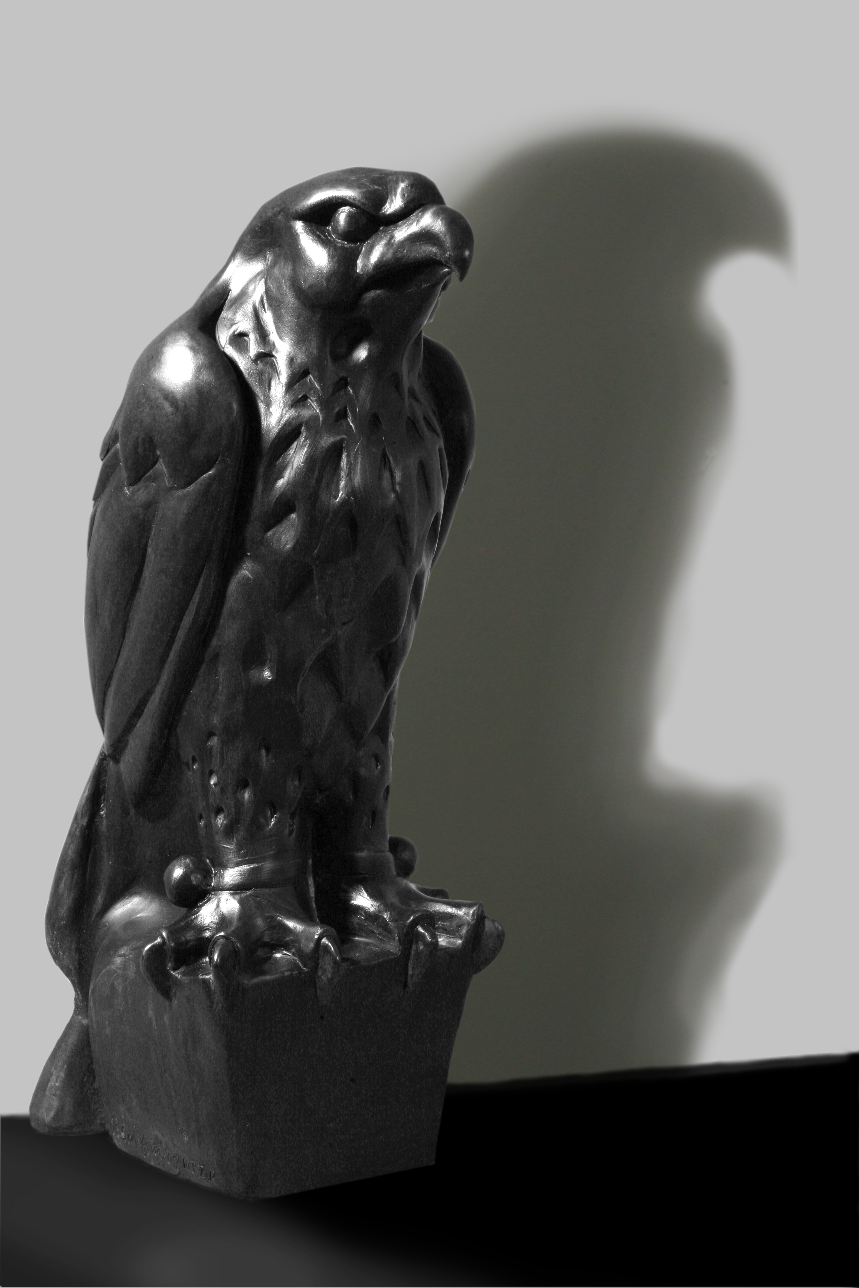 The Maltese Falcon Meets Five Million Dollar Solid Gold and Diamond Encrusted Maltese Eagle for ...