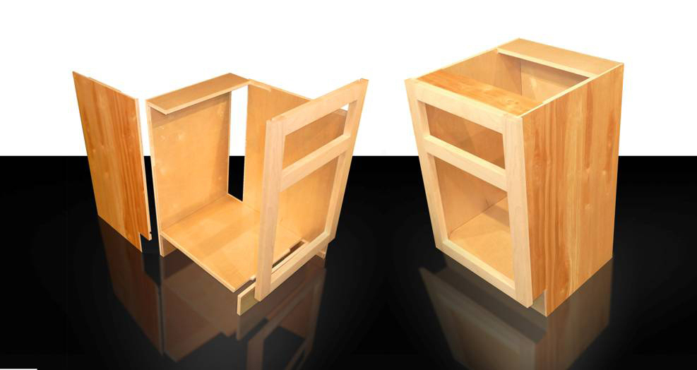 Cabinotch Offers An Innovative System For Assembling Face Framed Cabinet  Boxes That Feature Formaldehyde Free PureBond® Hardwood Plywood.