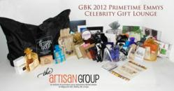 The Artisan Group 2012 Primetime Emmys Celebrity Gift Lounge Swag Bags