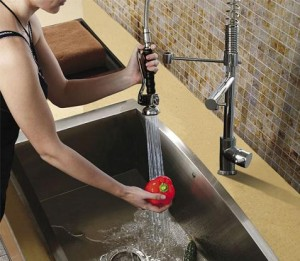 Double Faucet With Pull Down Spray From Vigo Industries ...