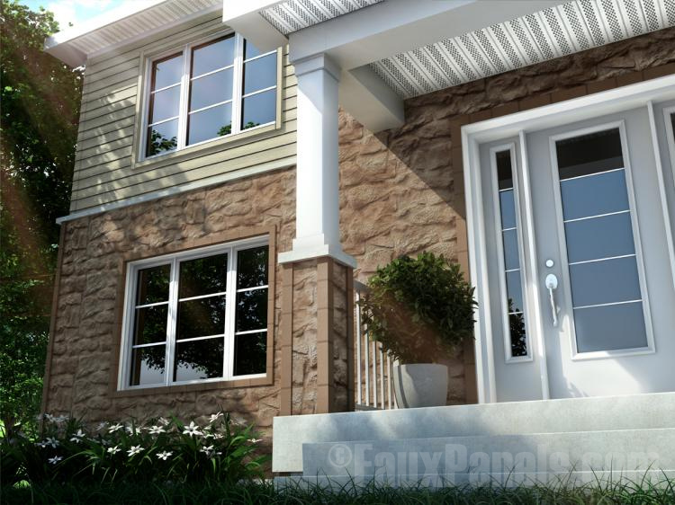 Fauxpanels Com Introduces Novi Fieldstone Plus Siding Panels
