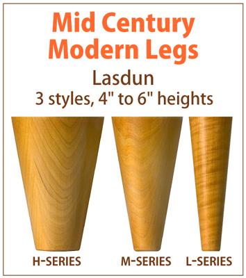 Lasdun Mid Century Modern Furniture Legs