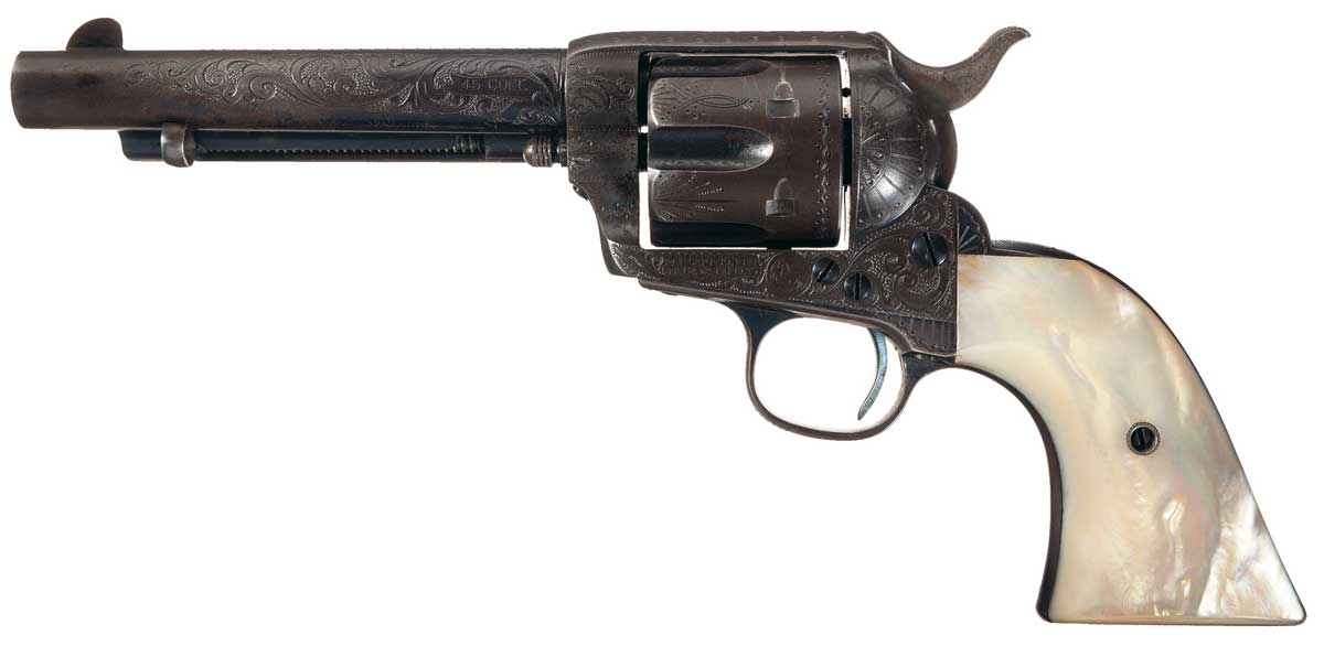Colt Single Action Revolver Documented as Taken from the