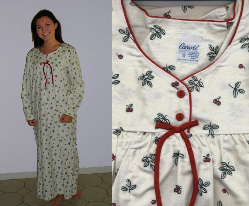 Wittmann Textiles Company Promotes Nightshirts and Ladies Flannel ...