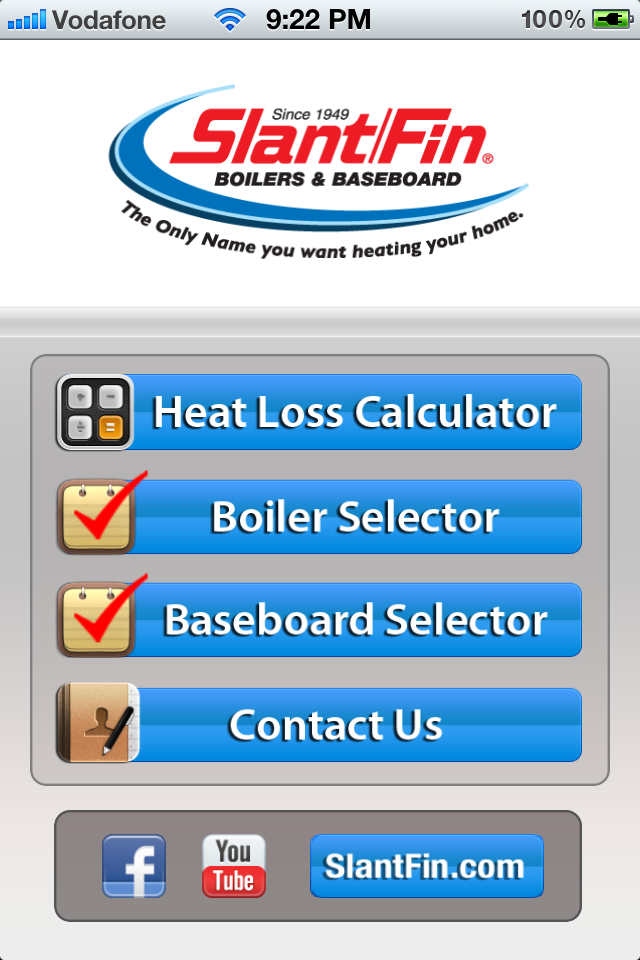 Slant Fin Hydronic Explorer Iphone Home Pageas You Can See The Page Is User Friendly
