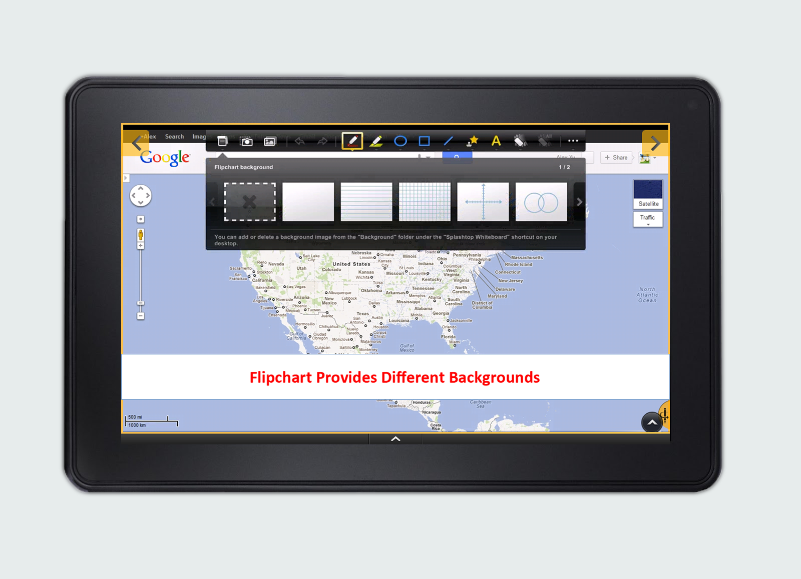 splashtop launches whiteboard  kindle tablet edition