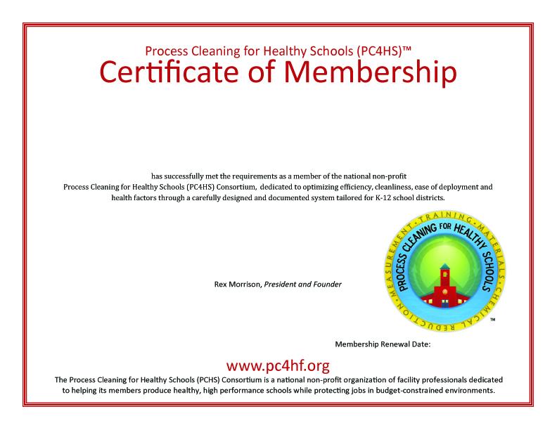 Non Profit Pc4hs Announces Membership Levels And Certificates