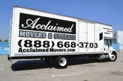 Acclaimed Movers & Storage