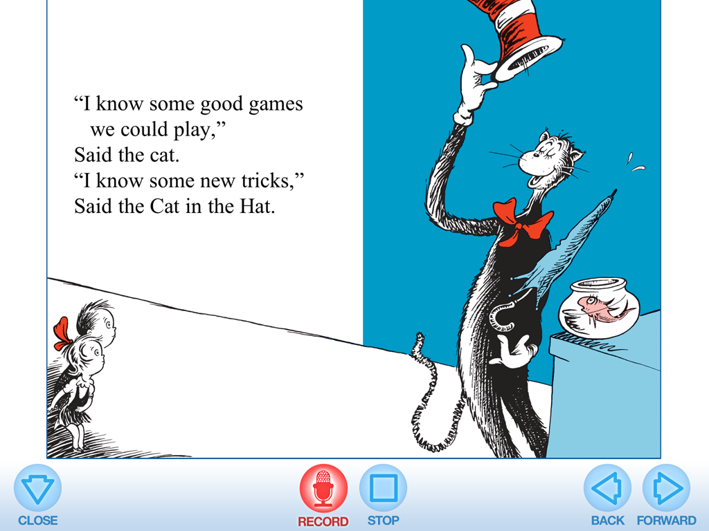 Thing  And Thing  Cat In The Hat Book