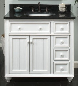 """Sagehill Designs 36"""" Bathroom Vanity From The Cottage Retreat Collection ..."""