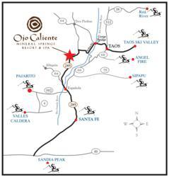 New Mexico Ski Resorts Map Park Ideas