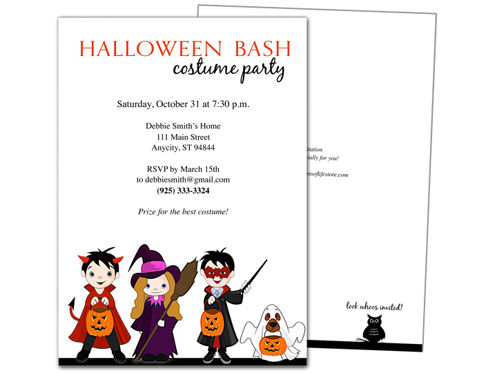 New halloween invitation templates just added to the celebrations of media maxwellsz