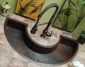 Merveilleux Yukon Trough Sink From Sierra Copper Elkay ...
