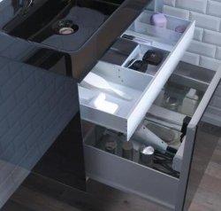Robern Slim Drawer Insert Single Deep Bathroom Vanity