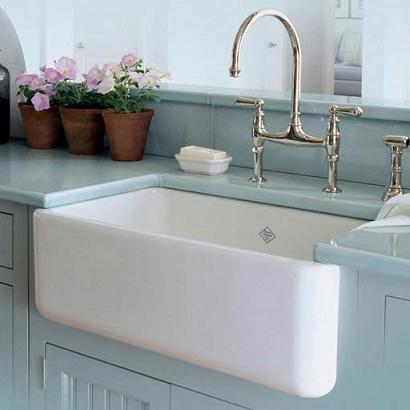 Shaws Original Single Basin Farmhouse Sink From Rohl