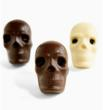 Vosges Day of the Dead chocolate skulls.