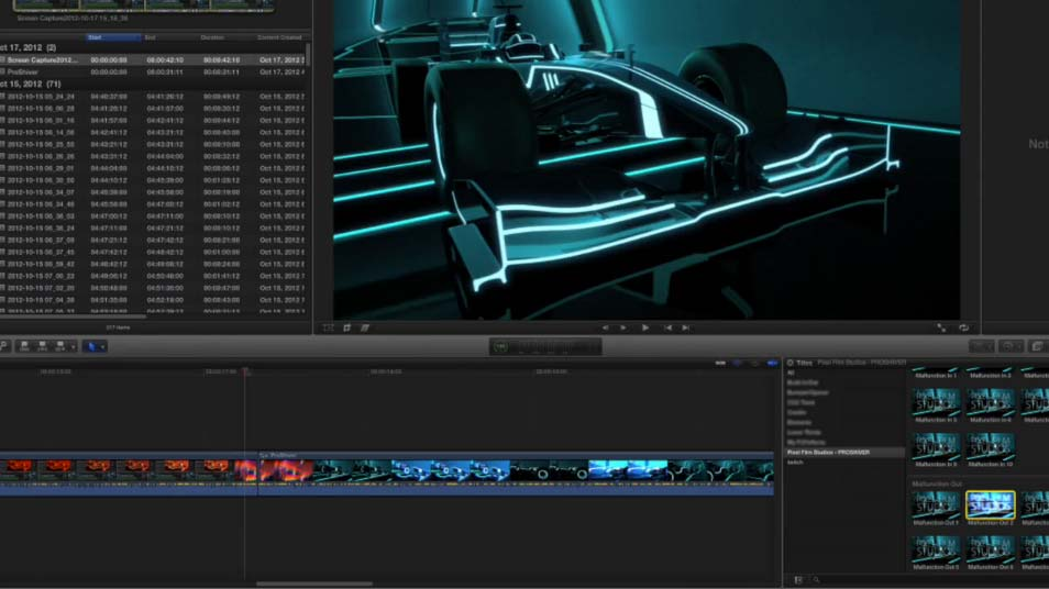 ProShiver Plugin for Final Cut Pro X Released Today from Pixel Film