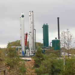 The Turkey Creek Waste-to-Energy LFG processing facility
