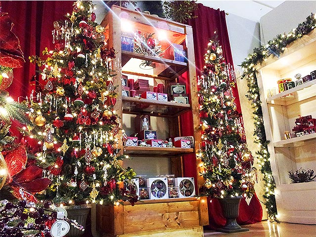 artificial christmas tree shopping