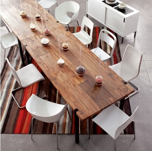 Furniture Fashion Names The Top Dining Room Tables In The World - Cb2 expandable dining table