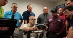 VibrAlign Trainer Stan Riddle with alignment class