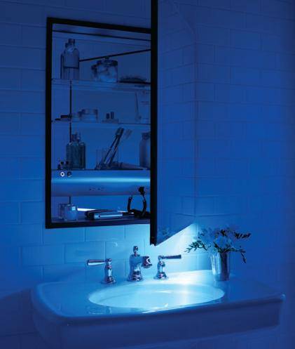 Beau Robern M Series Medicine Cabinet With Built In Night Light ...