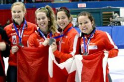 Canada Sizzles on Short Track