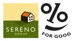 Sereno 1% for Good Logo