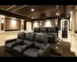 CEDIA Level I Technical Design Award Winning Theater - Rear View