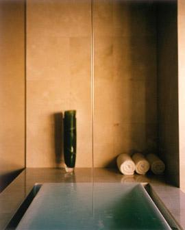 Sok Infinity Tub From Kohler With Ceiling Mount Tub Filler ...
