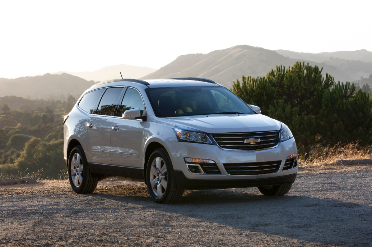 Joe Basil Chevy >> All-New 2013 Chevrolet Traverse Now Available at Guaranty Chevrolet in Orange County with 3.9% ...