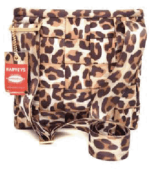 Harveys Snow Leopard Mini Messenger