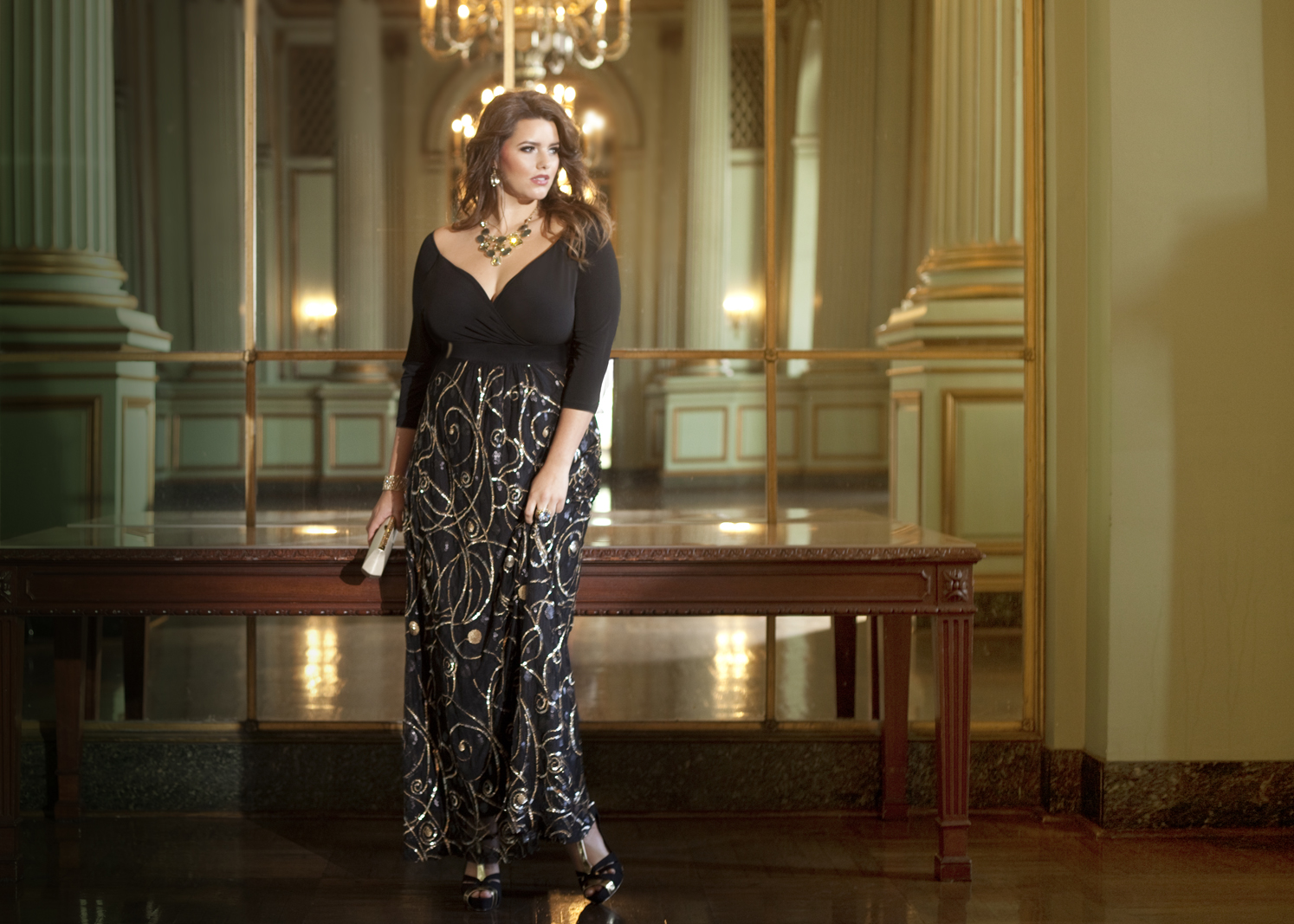 Plus Size Designer IGIGI by Yuliya Raquel Releases The Golden Age of ...