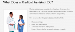 what does a medical asistant do in a hospital?