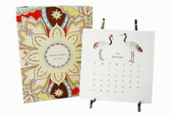 Karen Adams Designs Desk Calendar with Easel