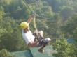Zip lines on the Screaming Eagle Tour can take guests up to 60 MPH and offer beautiful scenic views.