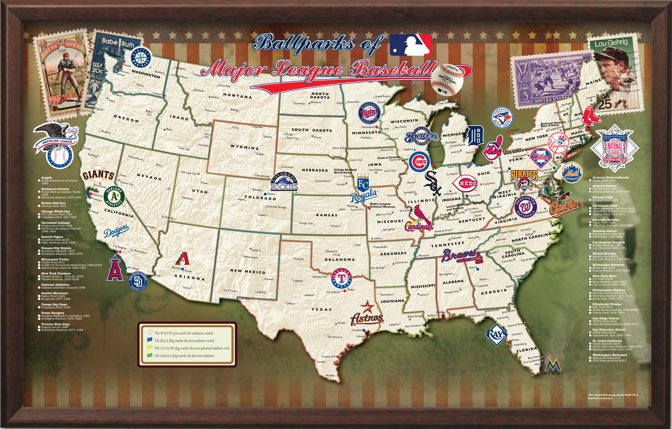 Map your travels traveler maps named in 2012 holiday gift guide from map your travels golf course map gumiabroncs Image collections
