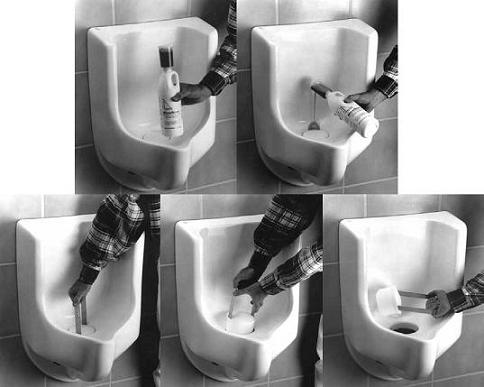 Monthly And Annual Maintenance For All Waterless Co Urinals Homethangs Home Improvement Super
