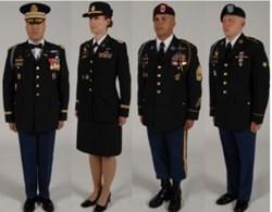 Usa Military Medals Supplying The New Dress Blue Asu Uniforms