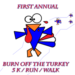 First Annual Burn Off the Turkey 5/K Run/Walk Sponsored by Advanced Imaging Centers of Florida